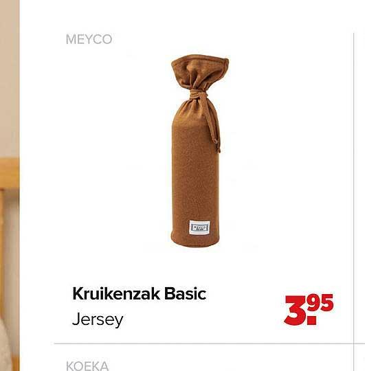 Baby-Dump Meyco Kruikenzak Basic