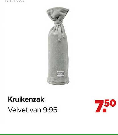Baby-Dump Meyco Kruikenzak Velvet