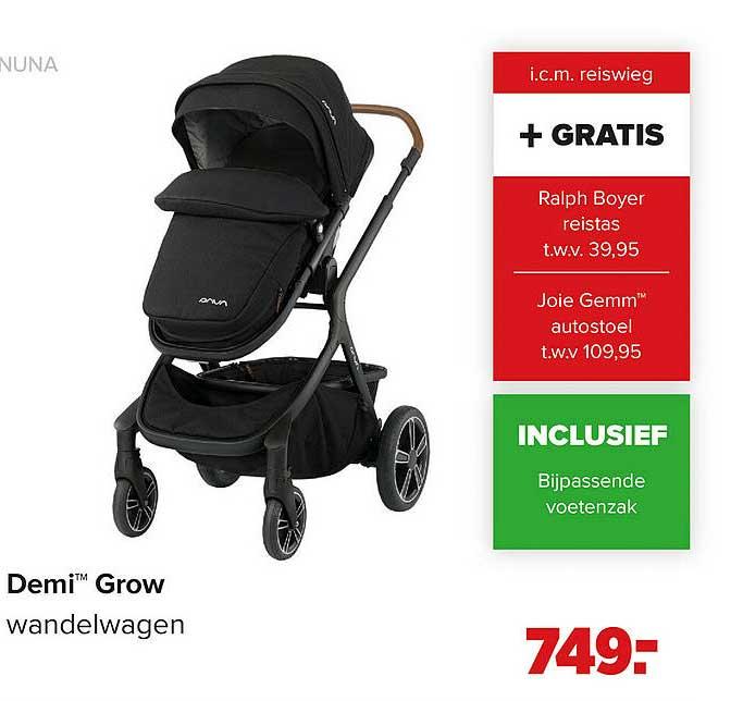 Baby-Dump Nuna Demi™ Grow Wandelwagen