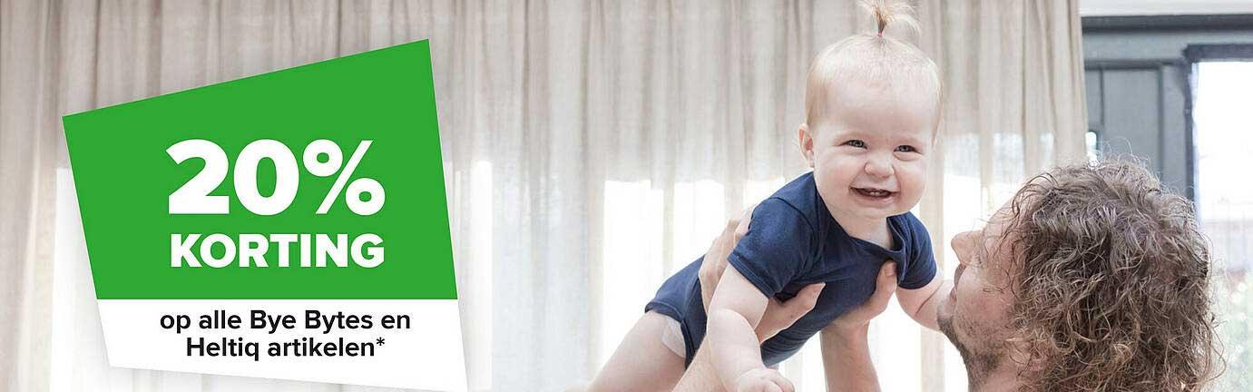 Baby-Dump Op Alle Bye Bytes En Heltiq Arikelen 20% Korting