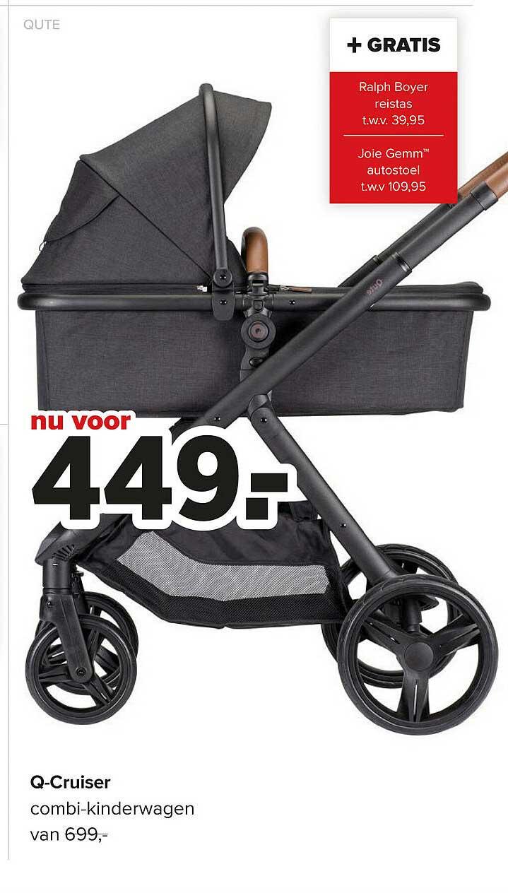 Baby-Dump Qute Q-Cruiser Combi-Kinderwagen
