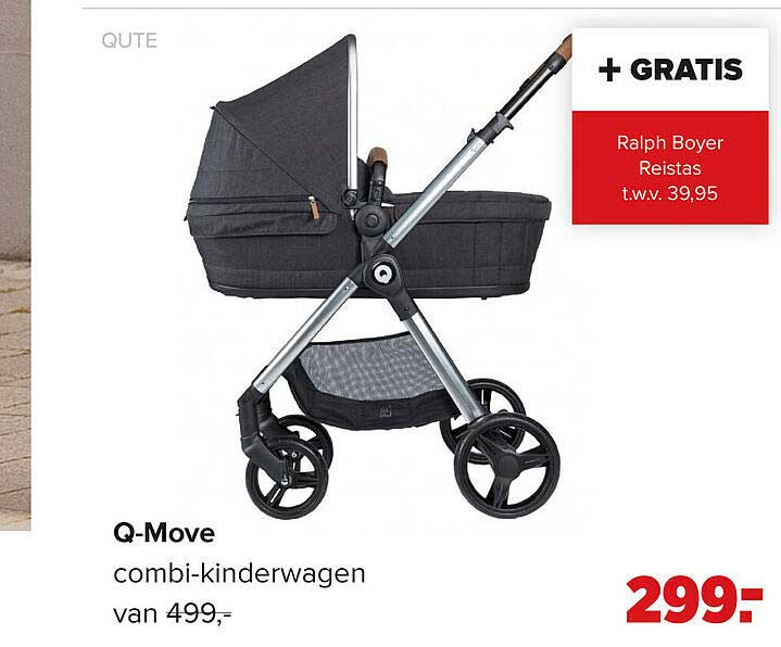 Baby-Dump Qute Q-Move Combi-Kinderwagen