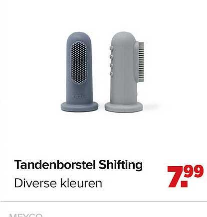 Baby-Dump Tandenborstel Shifting