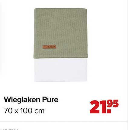 Baby-Dump Wieglaken Pure 70 X 100 Cm