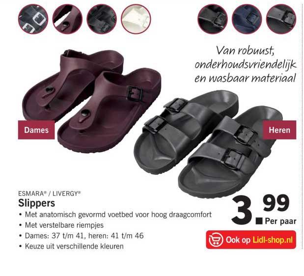 Birkenstock Slippers Voor Dames Aanbieding bij Lidl