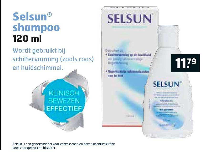 Trekpleister Selsun® Shampoo 120 Ml