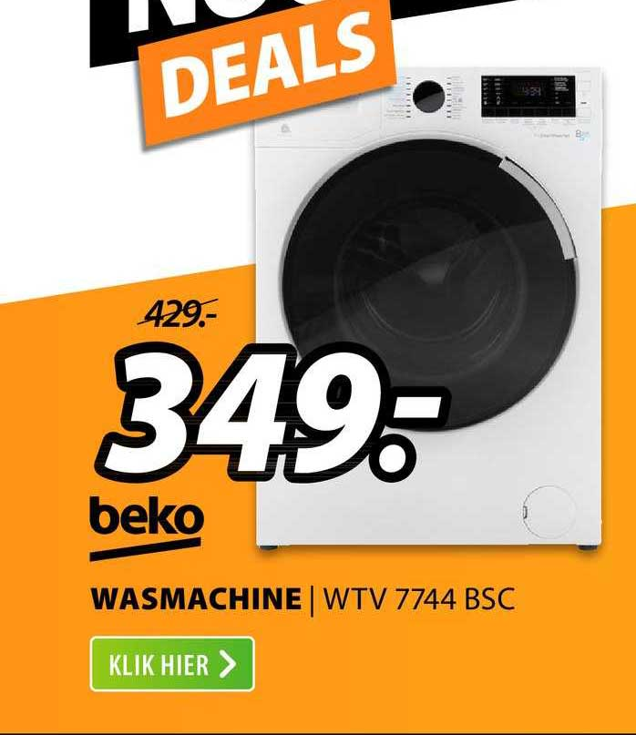 Expert Beko Wasmachine | WTV 7744 BSC