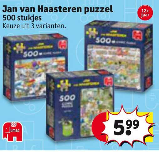 Kruidvat Jan Van Haasteren Puzzel
