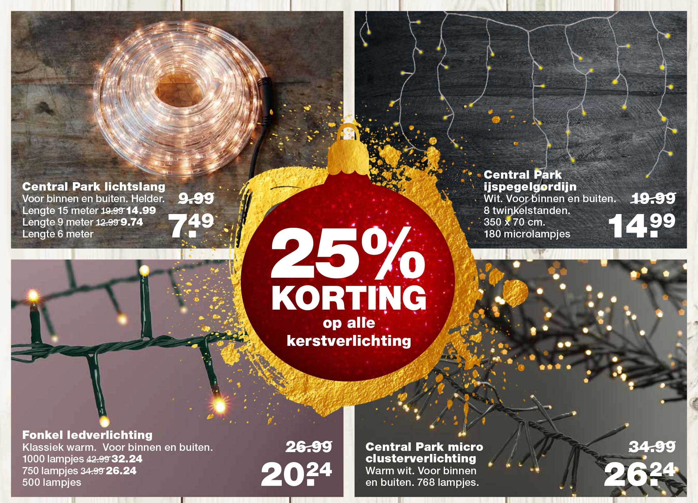 Praxis 25% Korting Op Alle Kerstverlichting