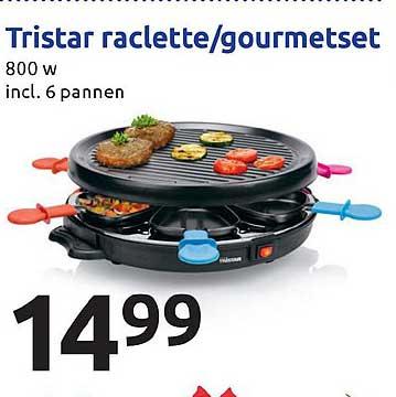 Action Tristar Raclette Gourmetset
