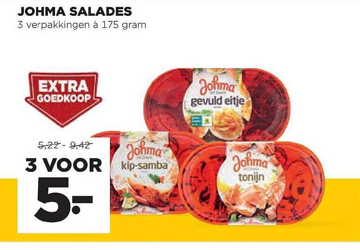 Jumbo Johma Salades