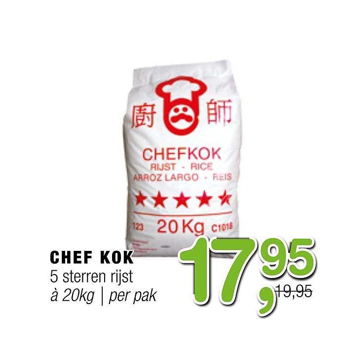 Amazing Oriental Chef Kok 5 Sterren Rijst