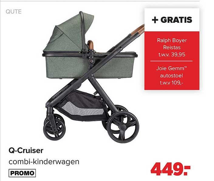 Baby Dump Qute Q-Cruiser Combi-Kinderwagen