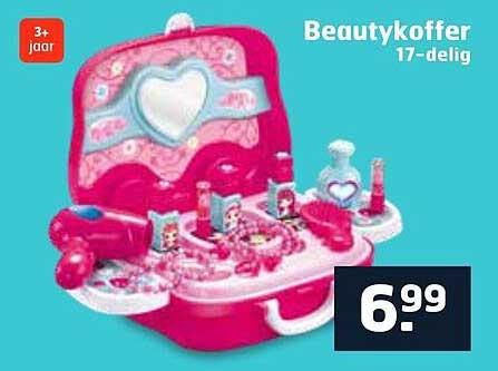 Trekpleister Beautykoffer 17-Delig