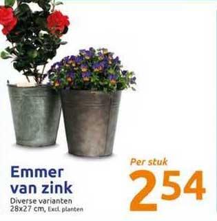 Action Emmer Van Zink