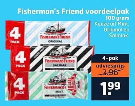 Trekpleister Fisherman's Friend Voordeelpak 100 Gram