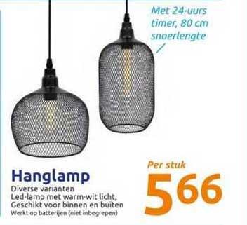 Action Hanglamp