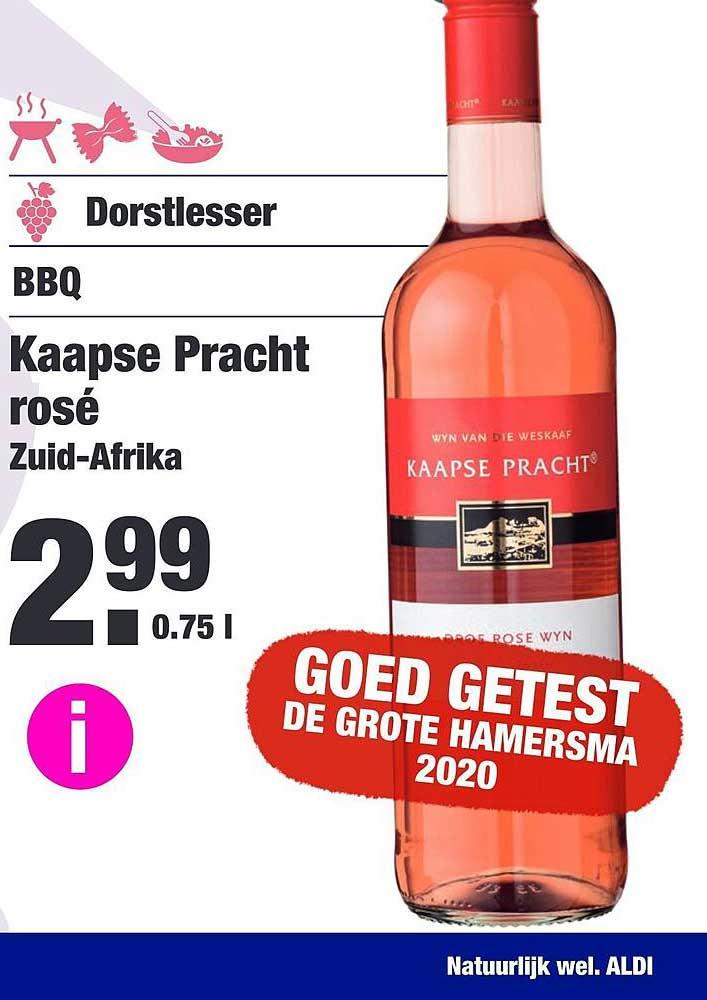 ALDI Kaapse Pracht Rosé
