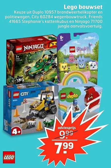 Trekpleister Lego Bouwset