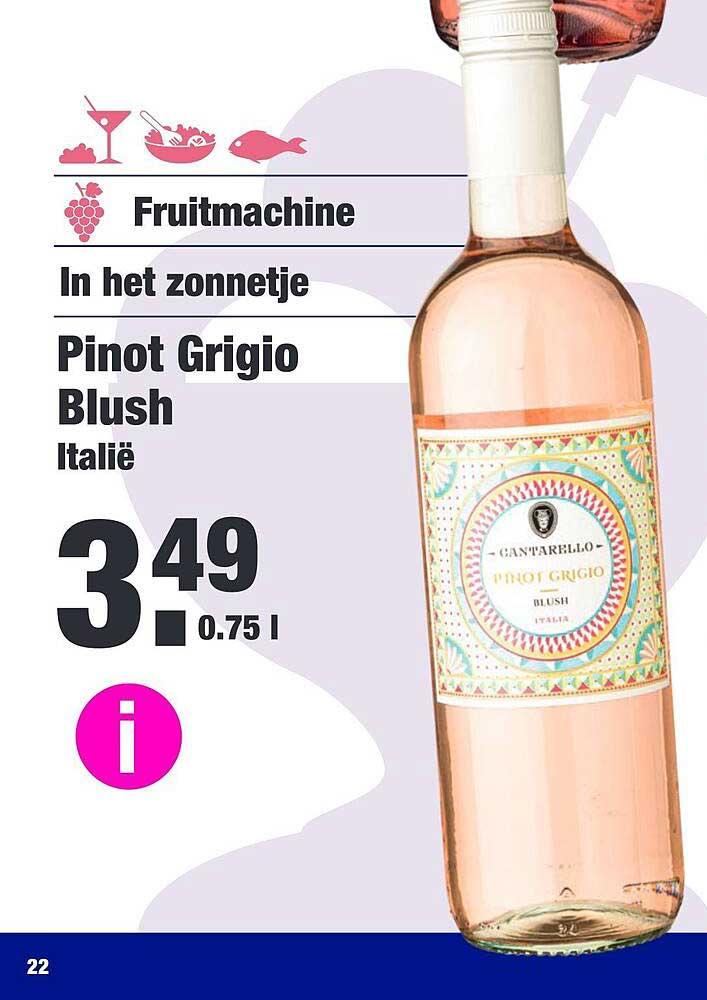 ALDI Pinot Grigio Blush