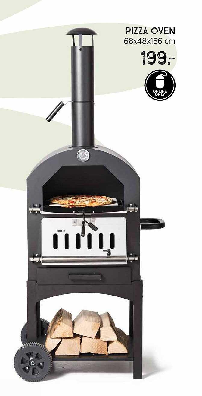 Xenos Pizza Oven 68x48x156 Cm
