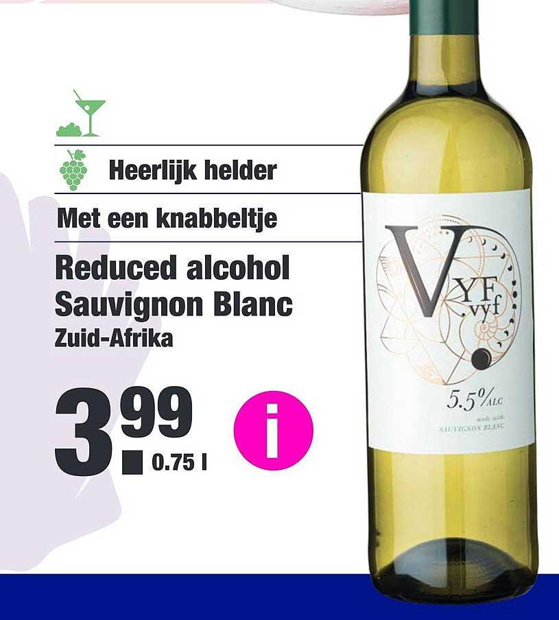 ALDI Reduced Alcohol Sauvignon Blanc