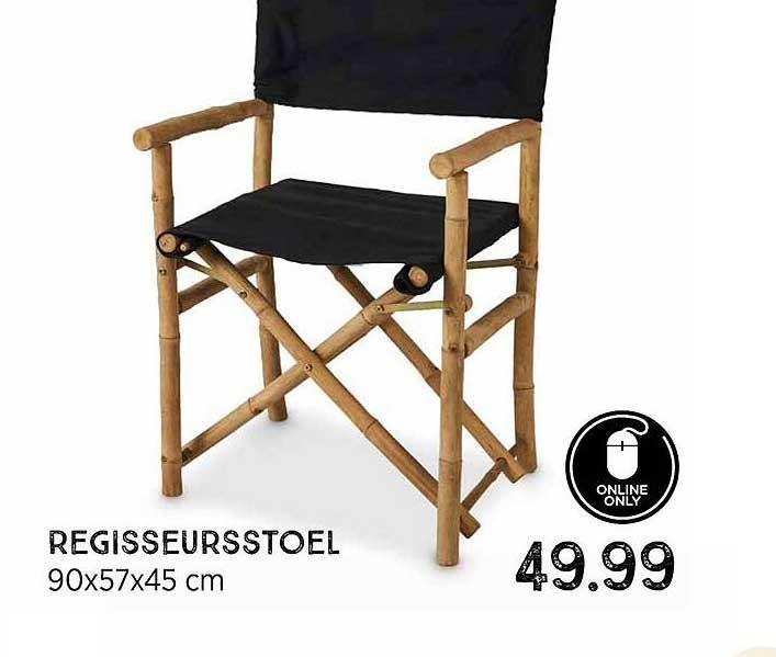 Xenos Regisseursstoel 90x57x45 Cm