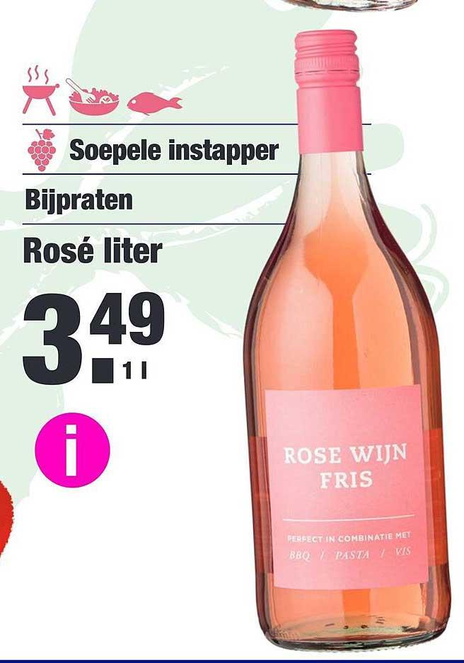 ALDI Rosé Liter