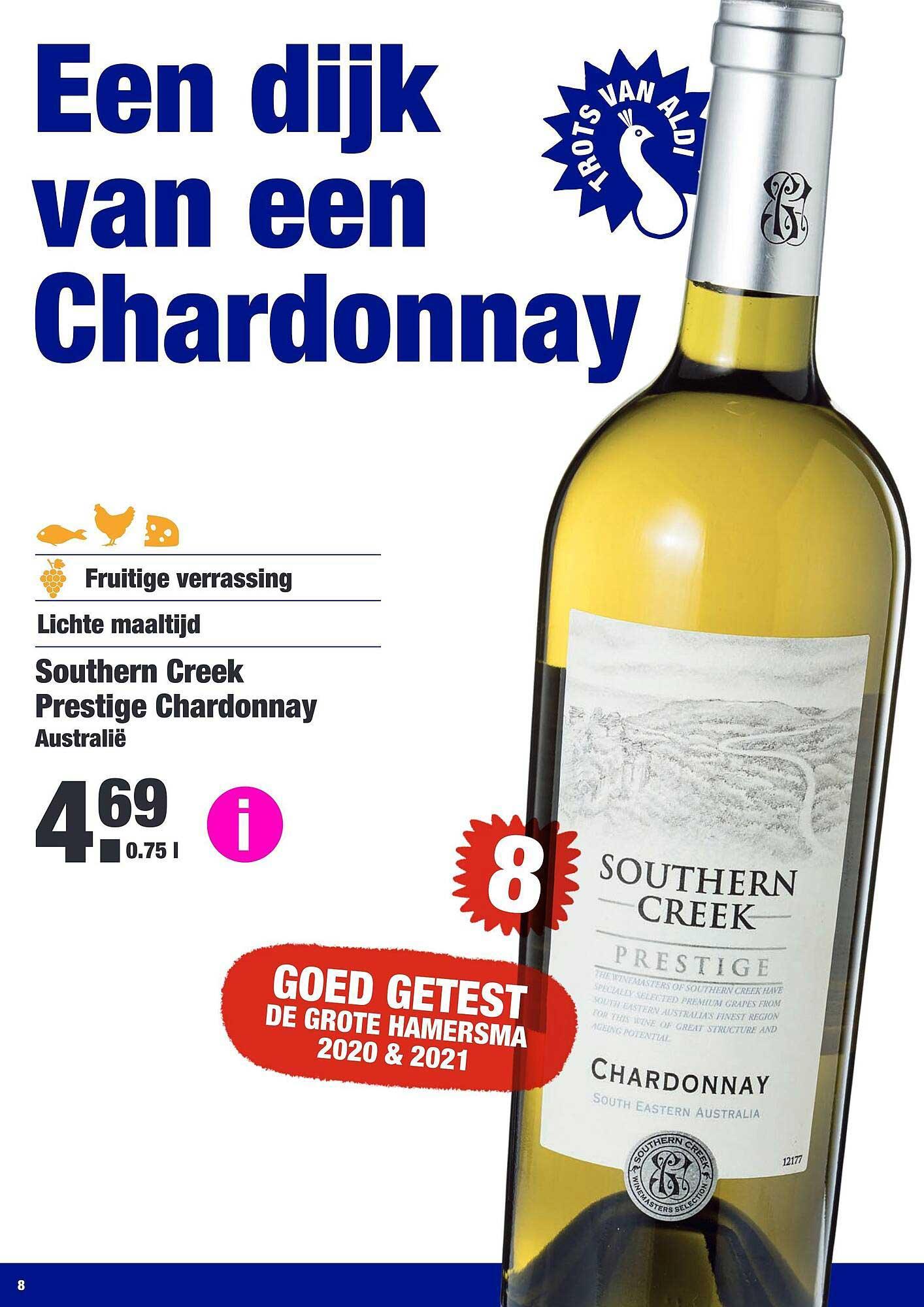ALDI Southern Creek Prestige Chardonnay