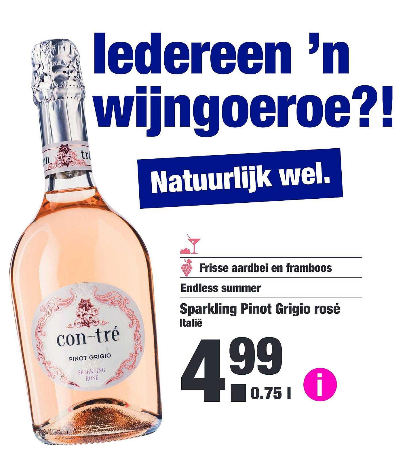 ALDI Sparkling Pinot Grigio Rosé