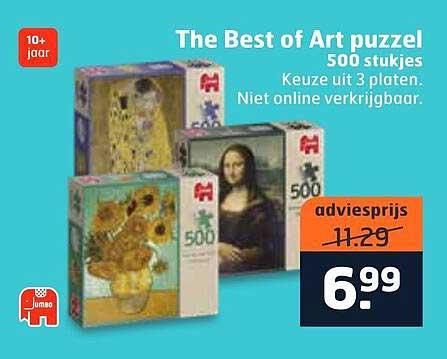Trekpleister The Best Of Art Puzzel 500 Stukjes
