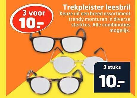 Trekpleister Trekpleister Leesbril