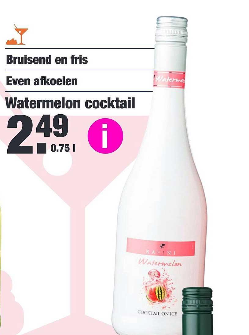 ALDI Watermelon Cocktail