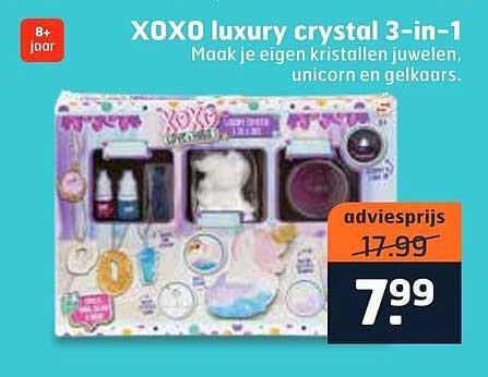 Trekpleister XOXO Luxury Crystral 3-in-1
