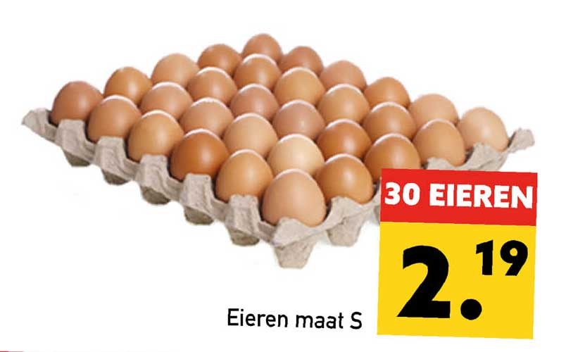 Tanger Markt Eieren Maat S