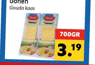 Tanger Markt Gonen Gouda Kaas