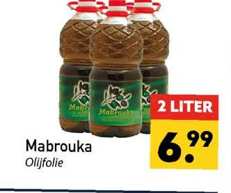 Tanger Markt Mabrouka Olijfolie