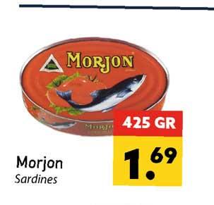 Tanger Markt Morjon Sardines