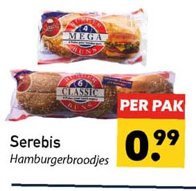 Tanger Markt Serebis Hamburgerbroodjes