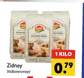 Tanger Markt Zidney Volkorenmeel