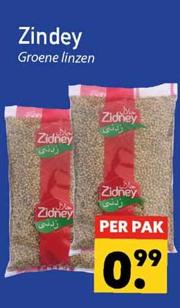 Tanger Markt Zindey Groene Linzen