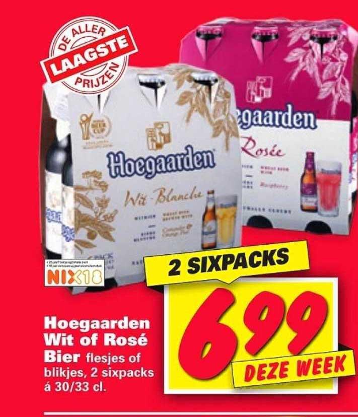 Nettorama Hoegaarden Wit Of Rosé Bier