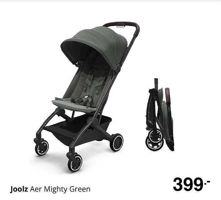 Baby & Tiener Joolz Aer Mighty Green Kinderwagen