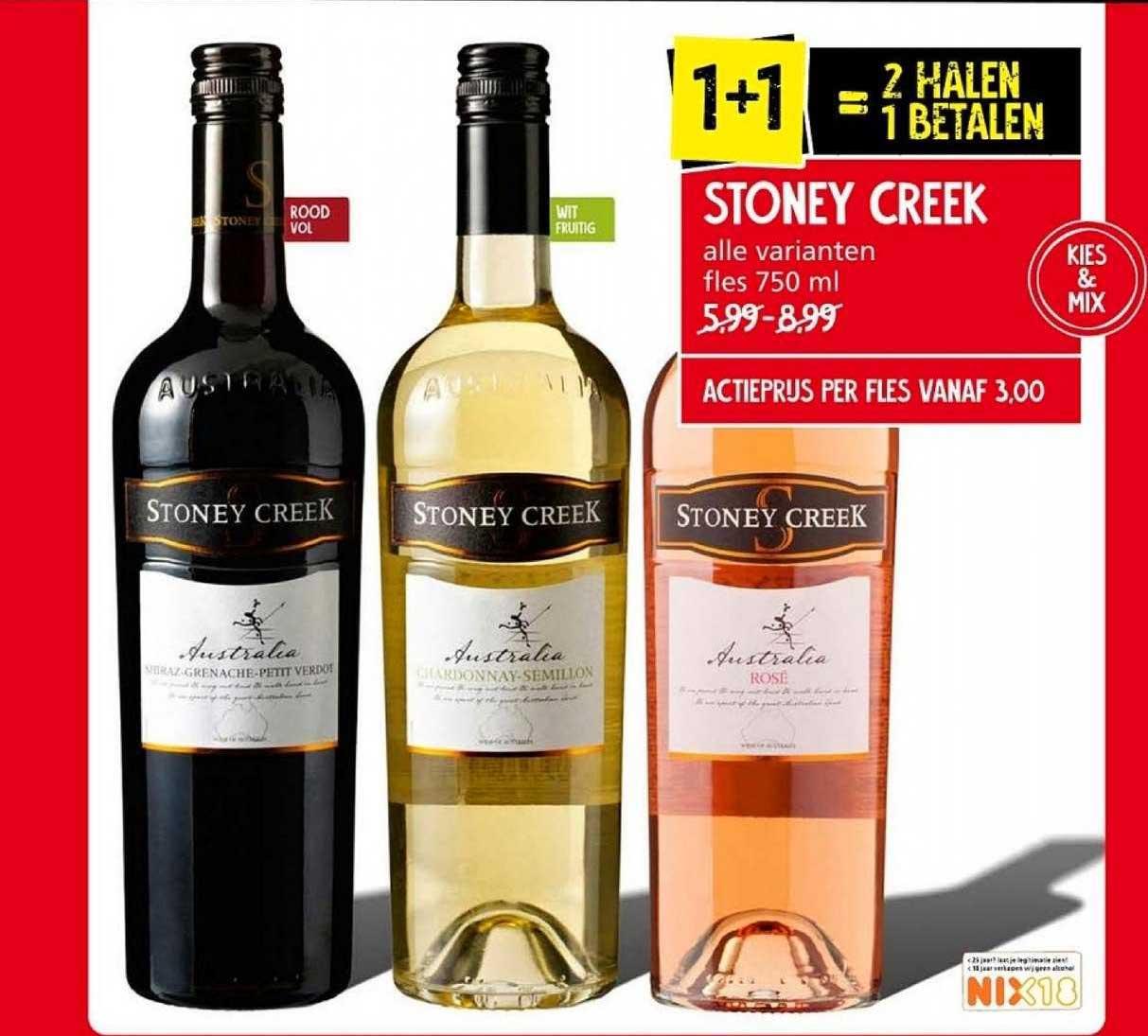 Jan Linders Stoney Creek 1+1 Gratis