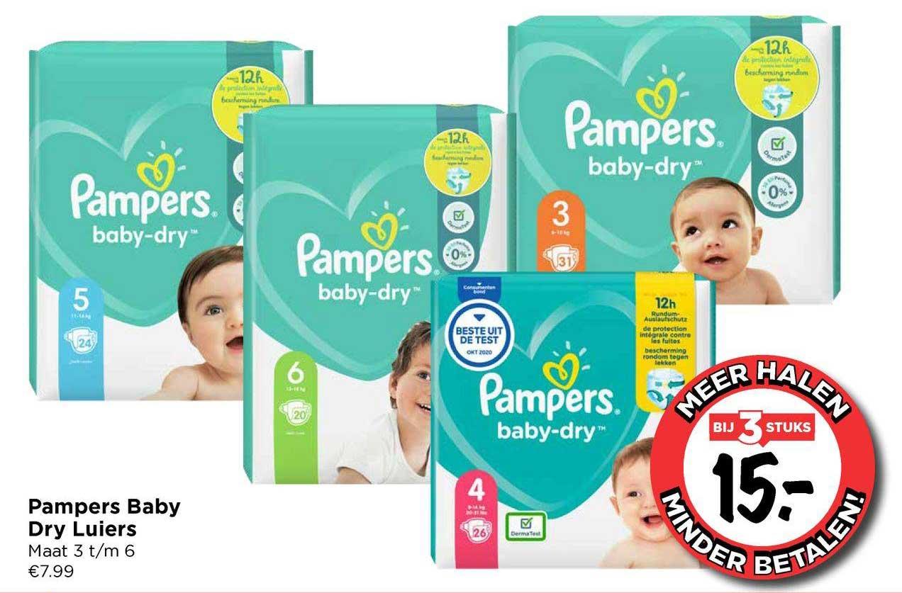Vomar Pampers Baby Dry Luiers