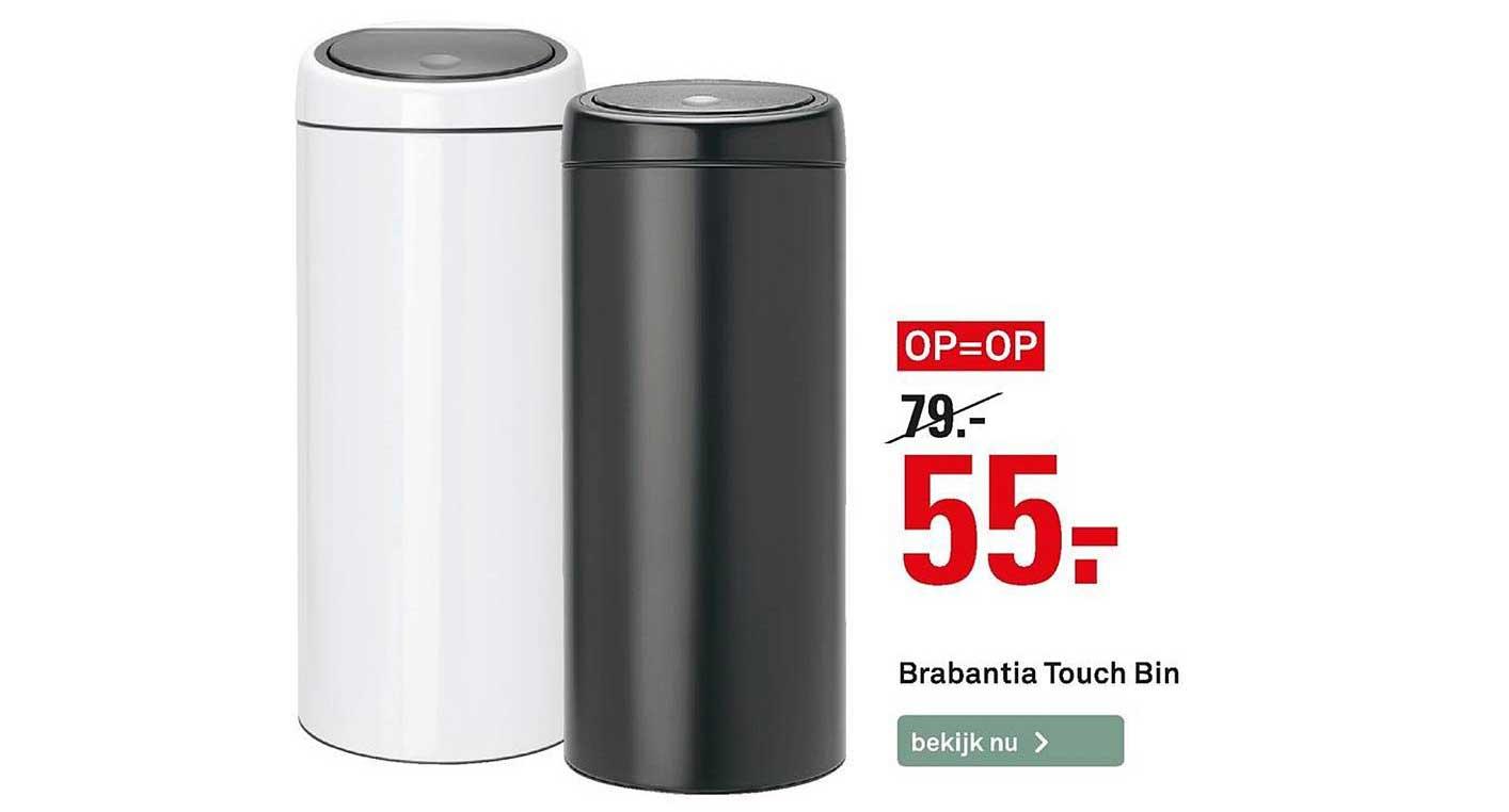 Karwei Brabantia Touch Bin