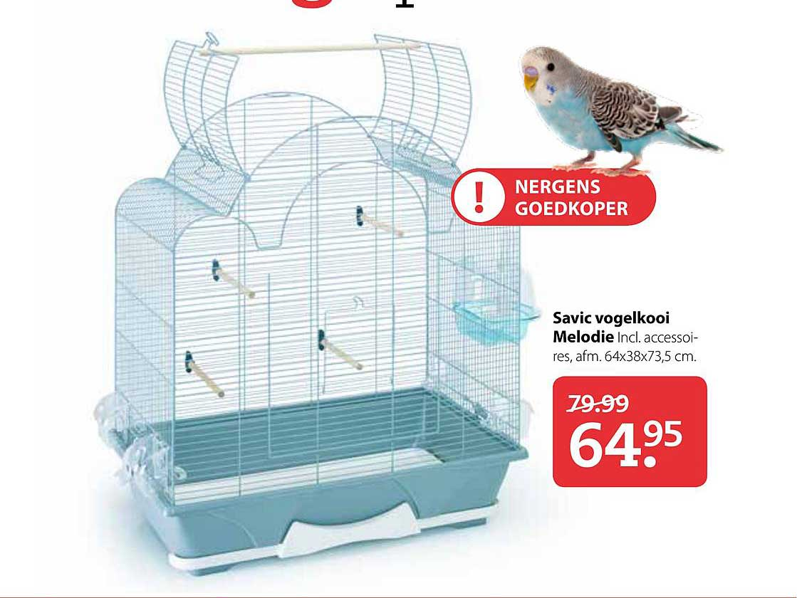Pets Place Savic Vogelkooi Melodie