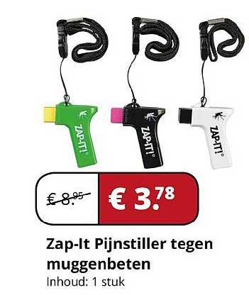 Voordeeldrogisterij.nl Zap-It Pijnstiller Tegen Muggenbeten