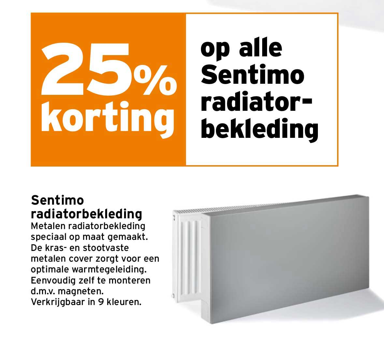 Gamma 25% Korting Op Alle Sentimo Radiatorbekleding