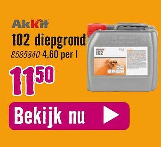 Hornbach Akkit 102 Diepgrond
